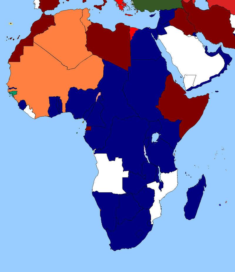 Patton y Eisenhower se reúnen con Rommel y Graziani para invadir toda África. ¿Cuál es tu plan en África?