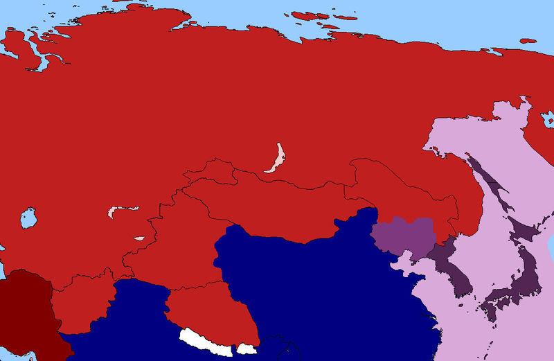 Las URSS han tenido tiempo para rearmarse y acabar con todos. El comunismo se extiende por toda Asia.