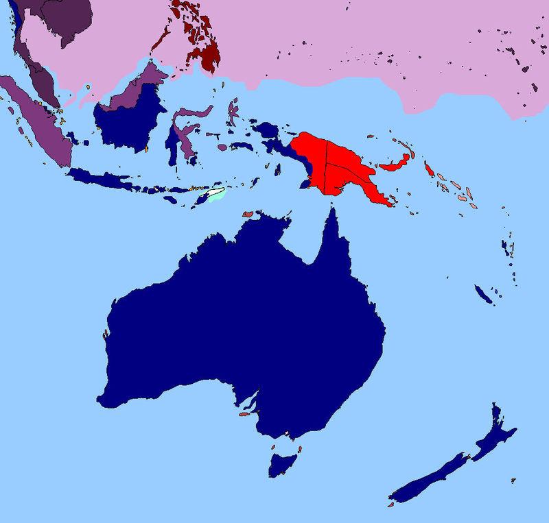 Australia es un continente tan basto que ni con la ayuda de los japoneses puede invadirlo. ¿Qué harás?