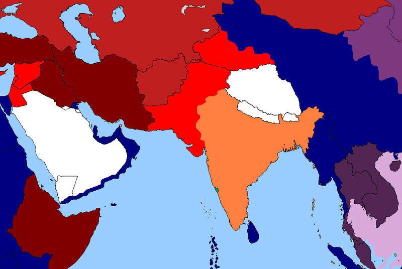 Tu invasión ha sido gloriosa. Gandhi ha reivindicado la independencia de la India ¿Cuál es tu siguiente objetivo?