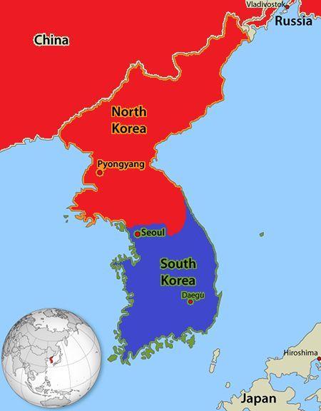 En cuestión de días llegáis hasta Seúl, ¿qué haces?