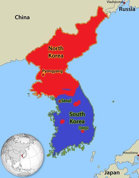 El caos reina en Corea del Sur. Tus tropas empiezan el asalto.