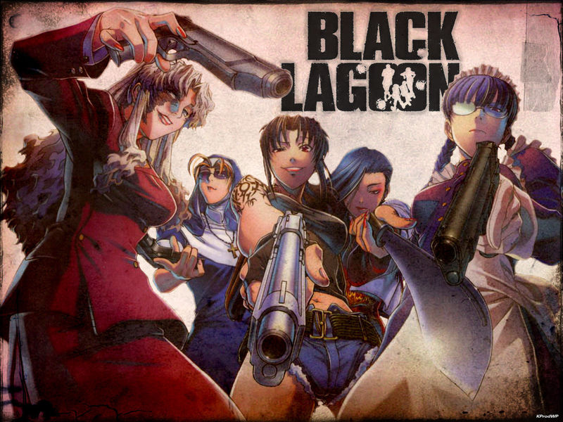 21998 - Personajes de Black Lagoon