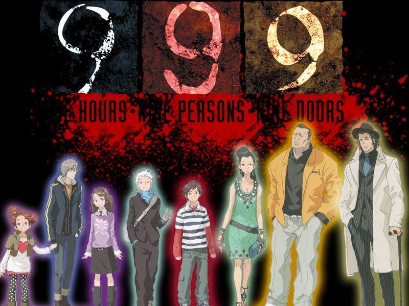 En 999, ¿Qué personaje finaliza muerto en todos los finales?