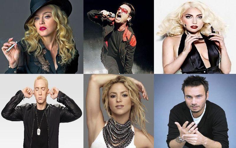 22016 - ¿Cuáles son los verdaderos nombres y apellidos de estos famosos cantantes?