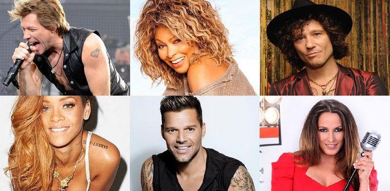 22019 - ¿Cuáles son los verdaderos nombres y apellidos de estos famosos cantantes? (PARTE 2)