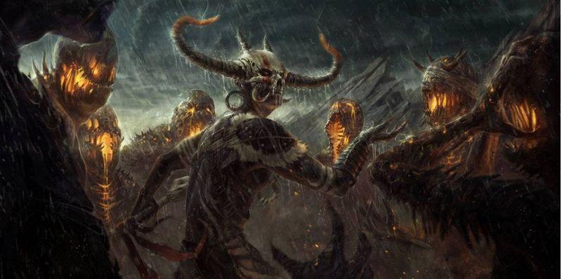Invocar a demonios y monstruos de otras dimensiones y controlarlos, pero corromperás y desfiguraras tu cuerpo y mente