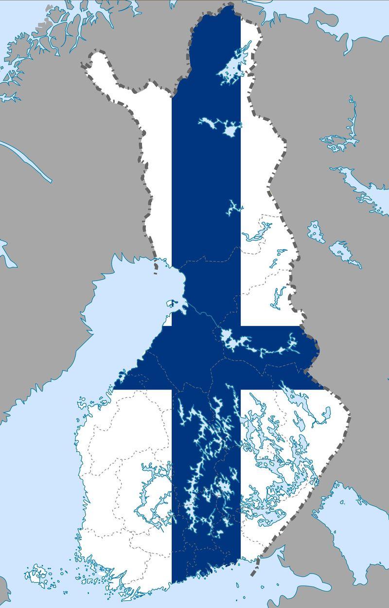 ¿En qué lugar está  Finlandia?