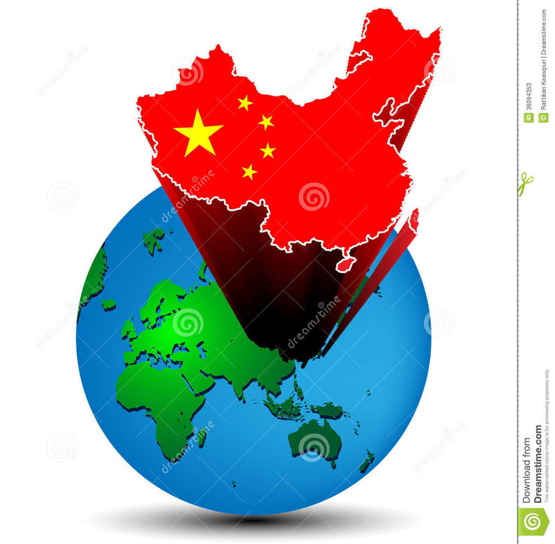¿En qué lugar está China?