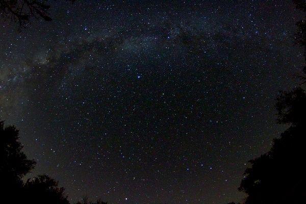 Ves al cielo nocturno, ¿Cuál es tu reacción?