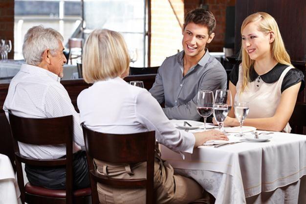 Llevas poco tiempo saliendo con tu pareja y tus padres te proponen invitarlo/a un día a casa a comer para conocerlo/a, tú...