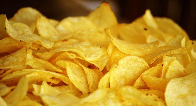 Papas fritas de bolsa (100 gramos).