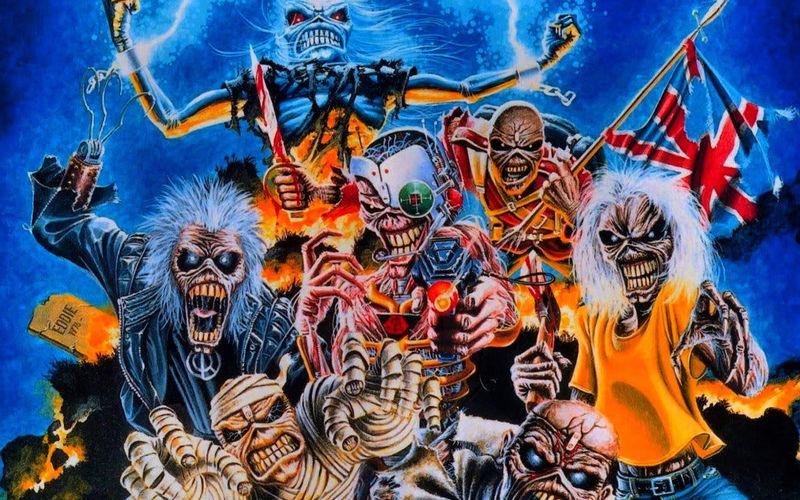 22274 - Relaciona el álbum de Iron Maiden con su año de publicación. ¿Te atreves?