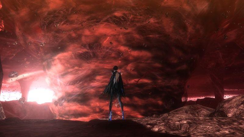 ¿Cómo llega Bayonetta a donde está Loki en Inferno?