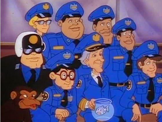 Loca academia de policía: