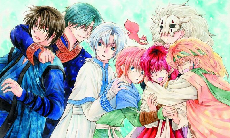22357 - Personajes de Akatsuki no Yona
