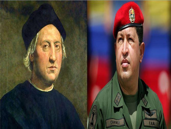 Cristobal Colón, el descubridor de América vs Hugo Chavez, el Presidente de la República Bolivariana y fundador del chavismo
