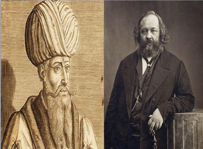Mahoma, principal profeta del islamismo vs Mijaíl Bakunin, anarquista ruso y padre de la ideología anarquista