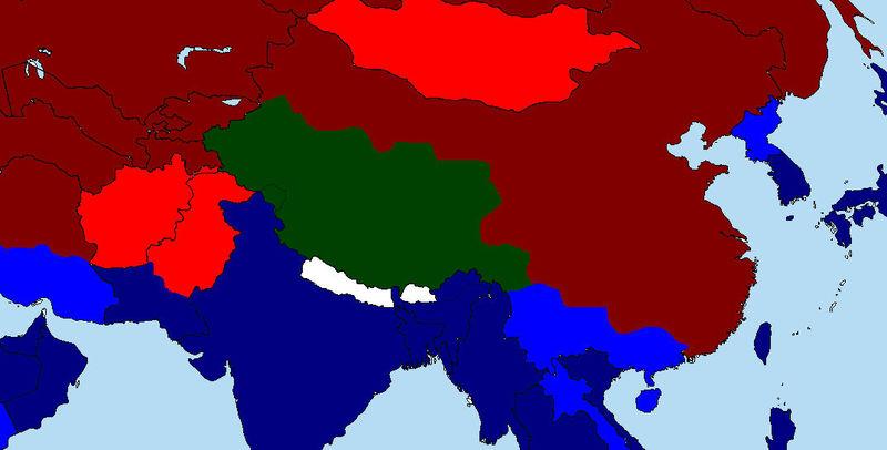 Los Tibetanos han aprendido los valores occidentales y con ayuda de más chinos consiguen debilitar china .