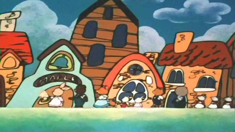 Ven a nuestra aldea a jugar con nosotros...(_____) ...ven que te esperamos...