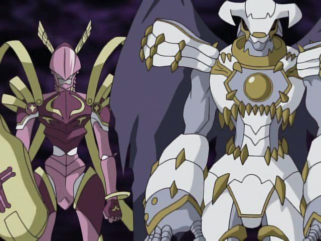 ¿Cómo desaparecen los Royal Knights en digimon frontier? (LordKnightmon y Dynasmon/Dinogumon)
