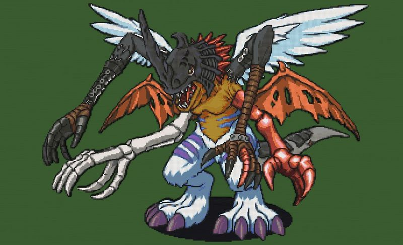 ¿Cúal de estos digimon no forma parte de Kimeramon?