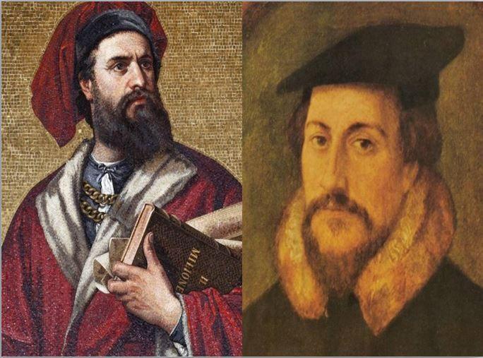 Marco Polo, el explorador medieval que realizó la famosa ruta de la seda vs Juan Calvino, fundador de la Iglesia Calvinista