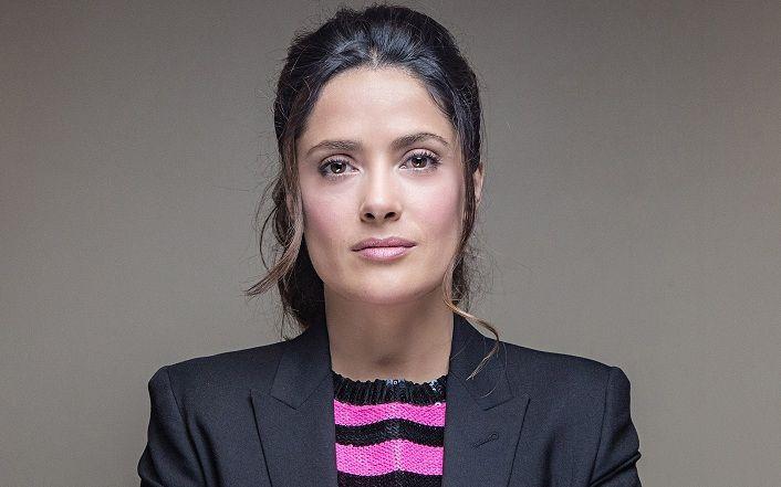 ¿Tiene 50 o más de 50 años la actriz Salma Hayek?
