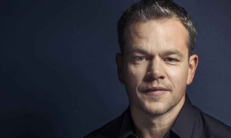 ¿Tiene 50 o más de 50 años el actor Matt Damon?