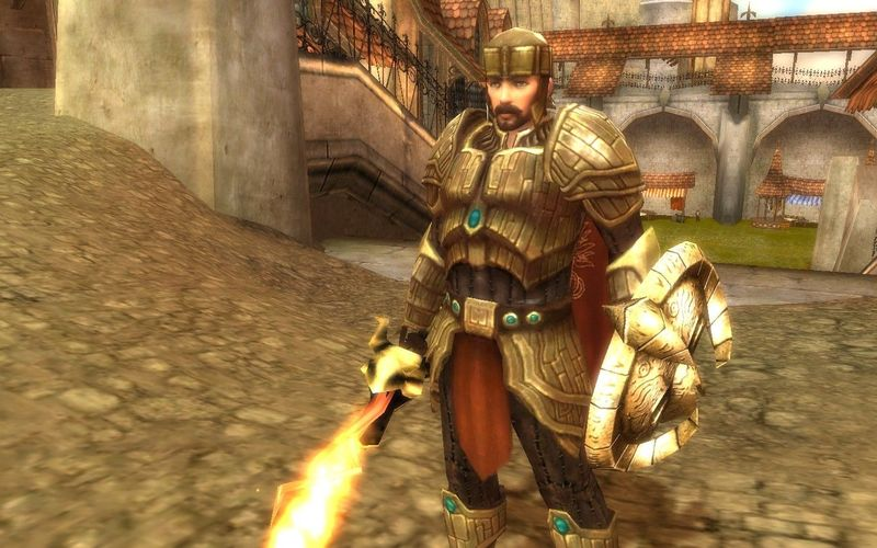 ¿Cómo se llama la espada flamígera que porta el príncipe Rurik?