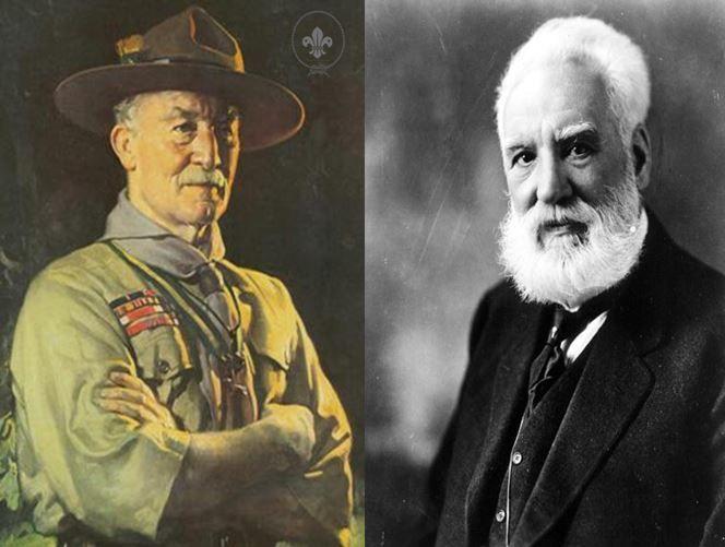 Robert Baden Powell, fundador del movimiento scout vs Alexander Graham Bell, inventor del teléfono