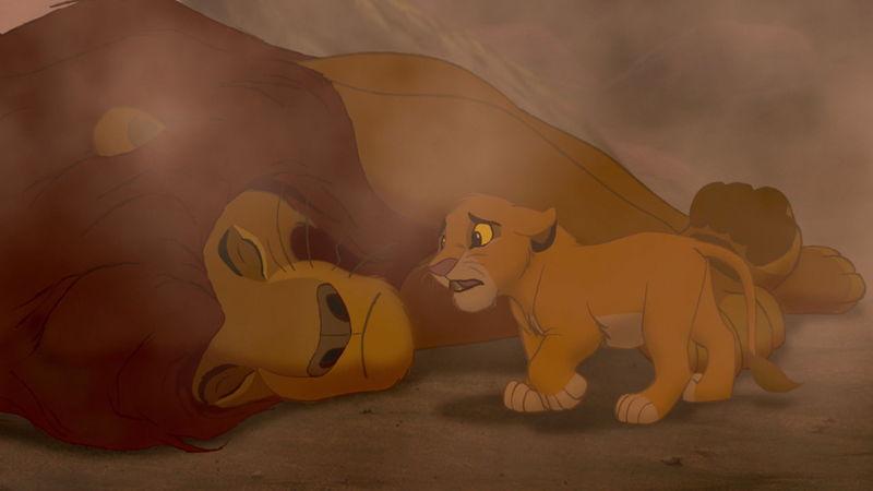¿Lloraste en la Muerte de Mufasa?