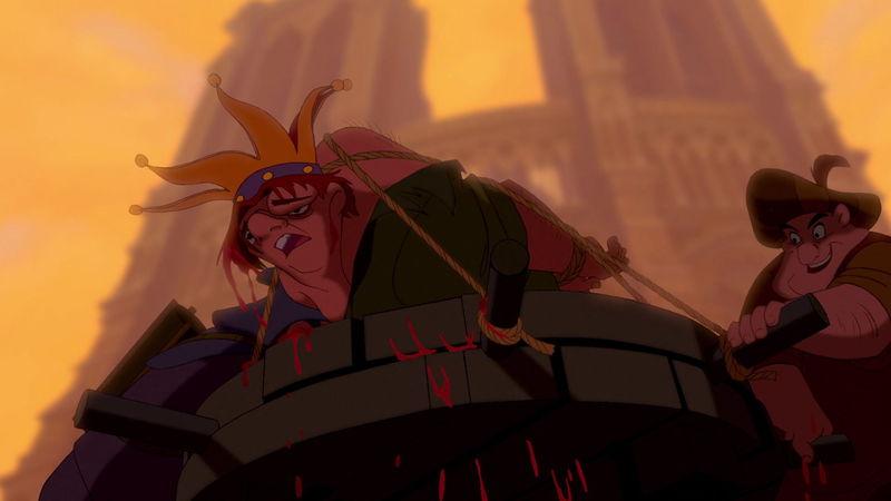 ¿Qué piensas sobre la humillación de Quasimodo de una manera grotesca?