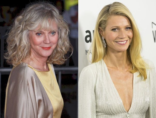 ¿Qué parentesco hay entre Blythe Danner y Gwyneth Paltrow?