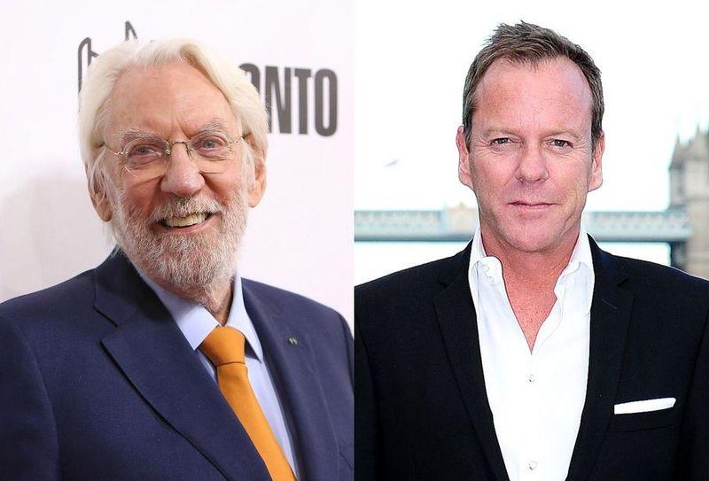 ¿Qué parentesco hay entre Donald Sutherland y Kiefer Sutherland?