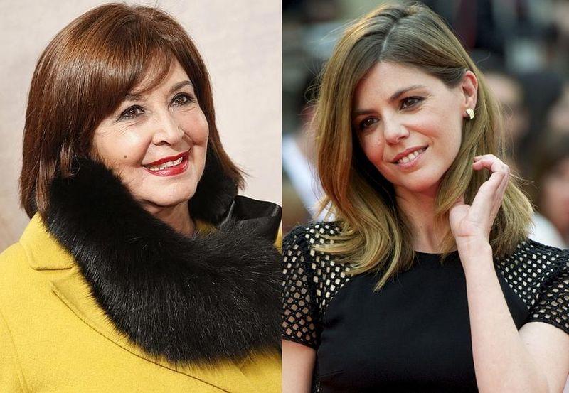 ¿Qué parentesco hay entre Concha Velasco y Manuela Velasco?