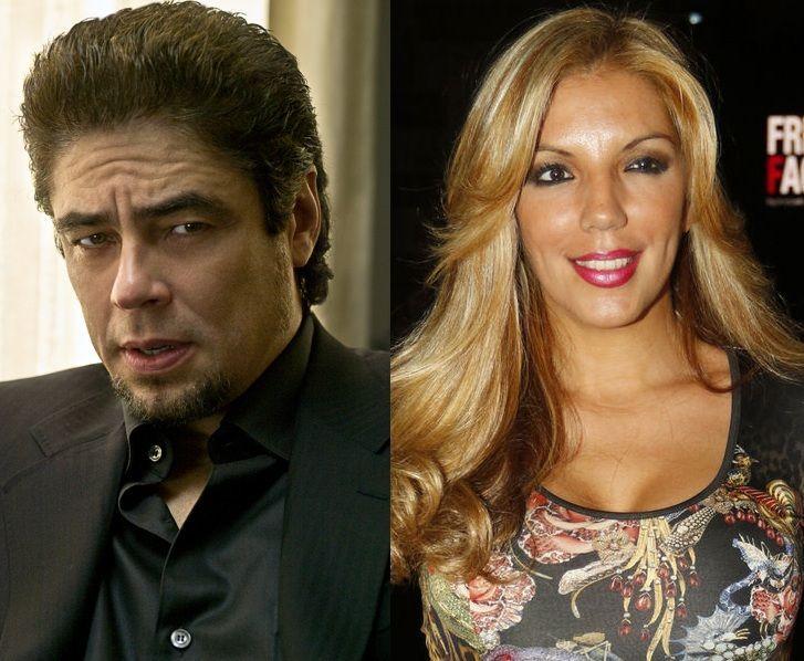 ¿Qué parentesco hay entre Benicio del Toro y Rebeca Pous?