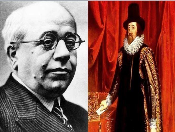 Manuel Azaña, presidente de la II República Española vs Francis Bacon, inventor del método científico