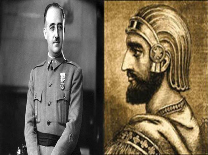 Francisco Franco, dictador de España durante 40 años vs Ciro II el Grande,  fundador del Imperio Persa