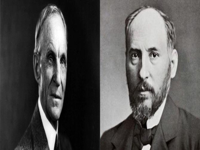 Henry Ford, fundador de la marca Ford vs Santiago Ramón y Cajal, científico español descubridor de la neurona