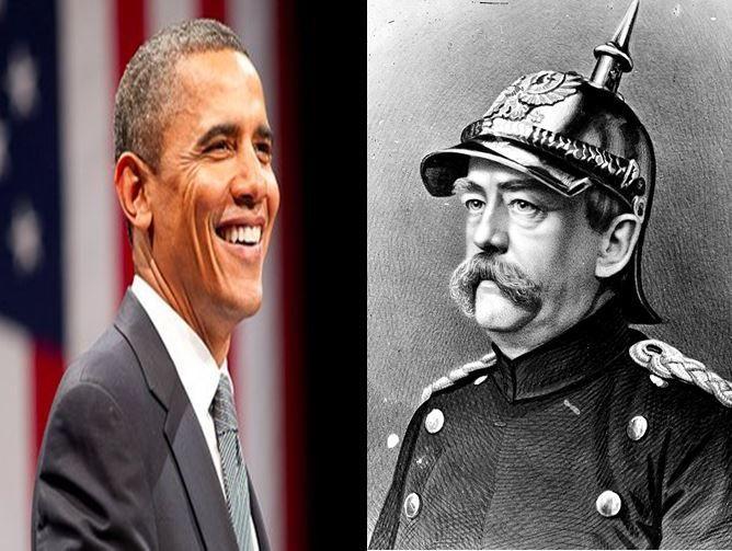 Barack Obama, primer presidente de USA afroamericano vs Otto Von Bismarck, general responsable de la unificación de Alemania