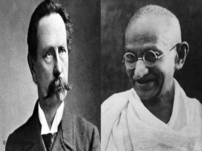 Karl Benz, inventor del automóvil vs Mahatma Gandhi, líder de la Revolución Pacífica de la India