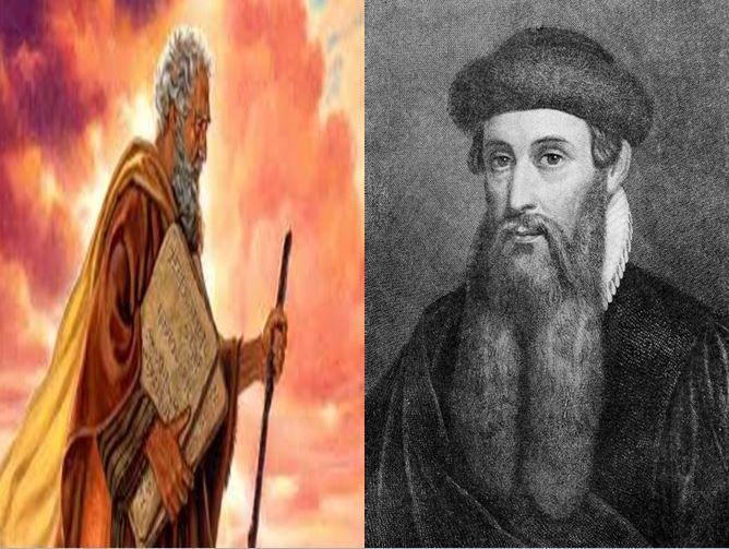Moisés, profeta del judaísmo que aportó los 10 Mandamientos vs Johannes Gutenberg, inventor de la imprenta