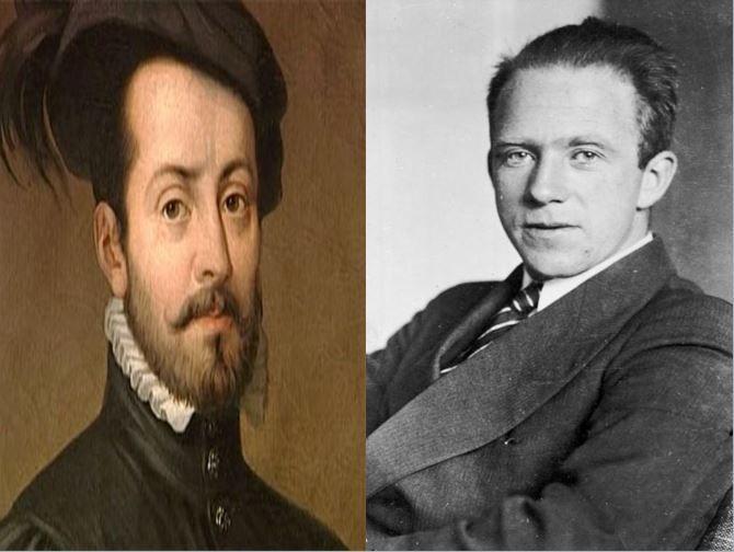 Hernán Cortes, colonizador español que conquistó México vs Werner Heisenberg, creador del Principio de incertidumbre