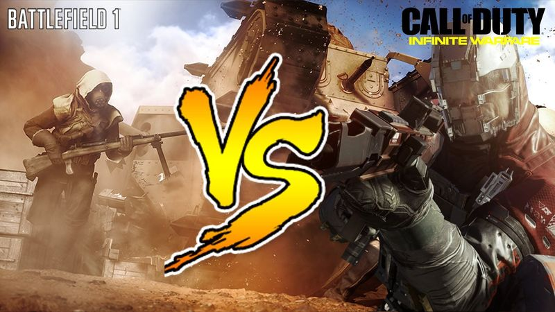 ¿Qué te parece el asunto de Battlefield 1 vs Infinite Warfare?