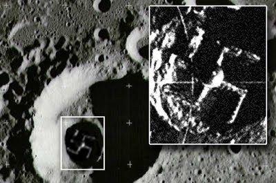 Los nazis tuvieron una base en la luna.