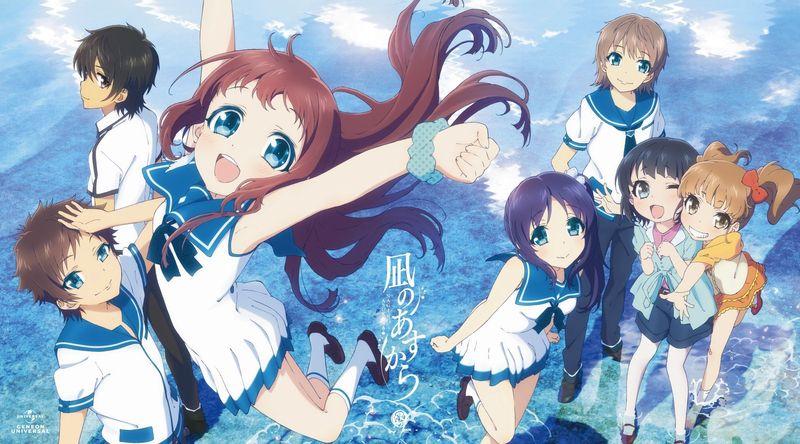 Los problemas de los personajes y la desaparación de Manaka en Nagi no Asukara