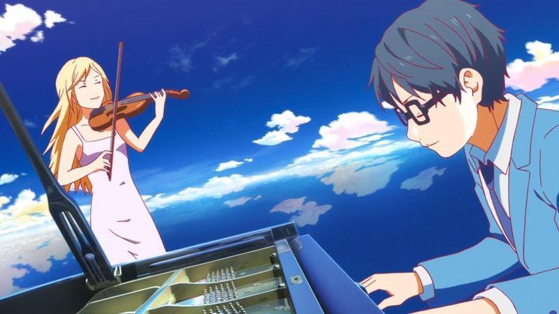 La muerte de Kaori en Shigatsu wa Kimi no Uso