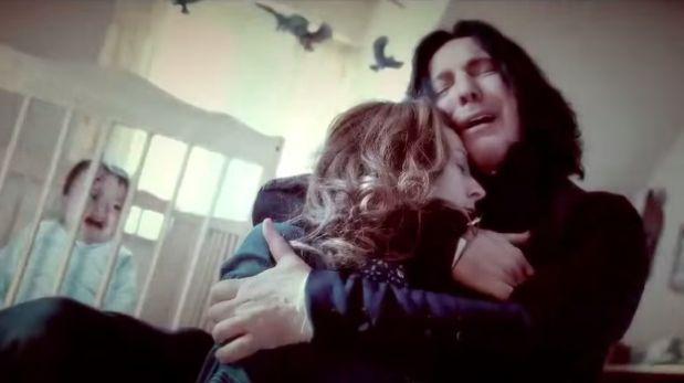 La muerte e historia de Severus Snape