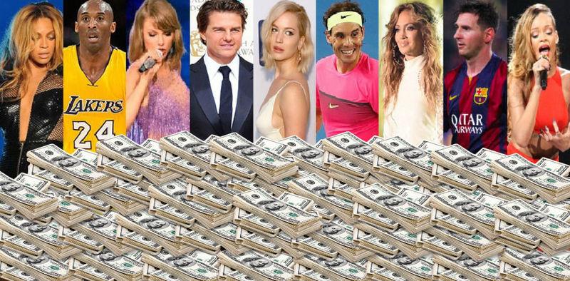 22619 - ¿Qué famoso es más rico según la lista Forbes de 2016?